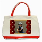 Red Poppy tote bag - Classic Tote Bag (Red)
