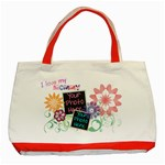 Mother s Day Red Tote - Classic Tote Bag (Red)