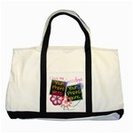 Mother s Day - Large GRANDMA Tote - Two Tone Tote Bag