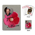 For Mum Playing Cards - Playing Cards Single Design (Rectangle)