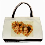 Hibiscus love 2 sided classic tote - Basic Tote Bag (Two Sides)