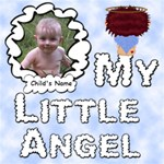 My Little Angel Boy 12x12 - ScrapBook Page 12  x 12
