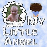 My Little Angel Boy 8x8 - ScrapBook Page 8  x 8