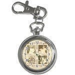 Heritage Quad frame family keychain watch - Key Chain Watch