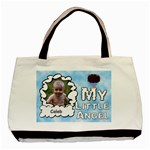 My Little Angel Boy Two Sided Bag - Basic Tote Bag (Two Sides)