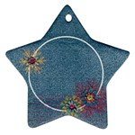 Snowflakes, Family- star ornament - Ornament (Star)