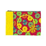 Summers Burst Large Cosmetic Bag 1 - Cosmetic Bag (Large)