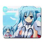 Nymph - Sora no Otoshimono - Large Mousepad