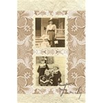 Family Heritage  Silk Damask Notebook - 5.5  x 8.5  Notebook