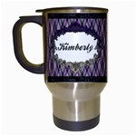 Royal Silhouette Travel Mug - Travel Mug (White)