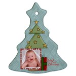 Baby s First Christmas Single Sided Tree Ornament - Ornament (Christmas Tree)