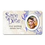 Save the Date Rectangular Magnet - Magnet (Rectangular)