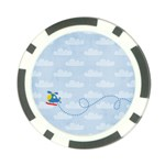 Lil Pilot-Poker Chip - Poker Chip Card Guard