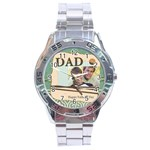 dad - Stainless Steel Analogue Watch
