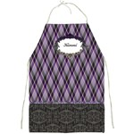 Royal Silhouette Full Print Apron