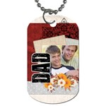 fathers day - Dog Tag (One Side)