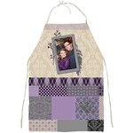 Royal Silhouette Patchwork Full Print Apron