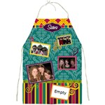 Sisters Bright Patterns Full Print Apron