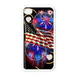 Star spangled banner - Apple iPhone 4 Case (White)