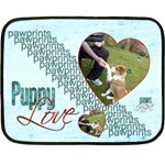 Puppy Love Mini Fleece Blanket - Fleece Blanket (Mini)