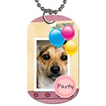 Party - Dog Tag (One Side)
