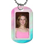My Two sides (2 sided) dog tag - Dog Tag (Two Sides)