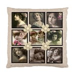 Antique neutral multiframe double side cushion - Standard Cushion Case (Two Sides)