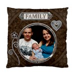 Family Love 2-Sided Cushion Case - Standard Cushion Case (Two Sides)