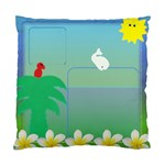 Beach House Cushion Cover (2 sided) - Standard Cushion Case (Two Sides)