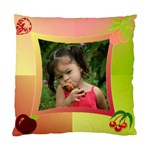 tutti frutti Cushion Case (2 sided) - Standard Cushion Case (Two Sides)
