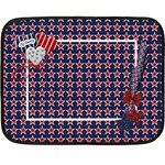 My Country 2 sided blanket 1 - Double Sided Fleece Blanket (Mini)