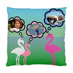 Flamingo Thought Cushion Case - Standard Cushion Case (Two Sides)