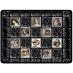 Acanthus Heirloom Extra Large Fleece Blanket - Fleece Blanket (Large)