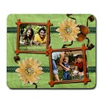 Green Nature Photo Mousepad - Large Mousepad