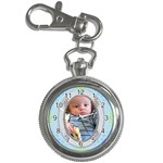 Baby Blue Key Chain Watch