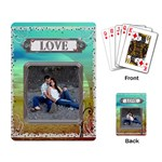My Love Playing Cards - Playing Cards Single Design