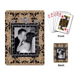 Pretty Elegant Playing Cards - Playing Cards Single Design