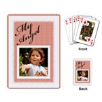 My Angel Playing card - Playing Cards Single Design (Rectangle)