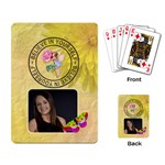 Believe in Yourself Playing Cards - Playing Cards Single Design