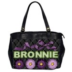 Bronnies laptop bag - Oversize Office Handbag (2 Sides)
