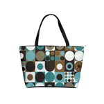 dot fabric classic shoulder bag - Classic Shoulder Handbag