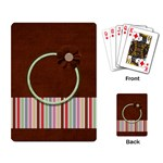 Sock Monkey Love Playing Cards 1 - Playing Cards Single Design (Rectangle)