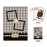 A Day to Celebrate Playing Cards 1 - Playing Cards Single Design (Rectangle)