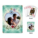 Pretty Love Playing Cards - Playing Cards Single Design (Rectangle)