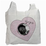 Find the Joy in Life Heart Recycle Bag - Recycle Bag (One Side)