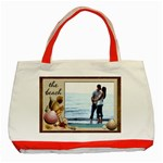 The Beach Red Classic Tote Bag - Classic Tote Bag (Red)