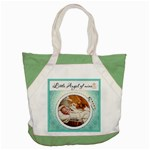 Little Angel of Mine Accent Tote Bag