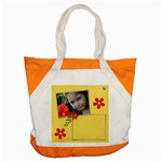 Accent Tote Bag- Summer Flowers 4