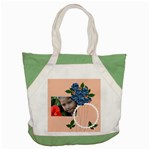 Accent Tote Bag: summer Flowers 7