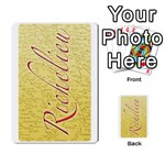 richelieu3 - Playing Cards 54 Designs (Rectangle)